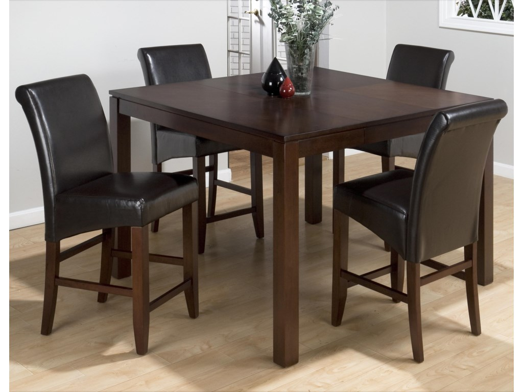 Shown with Bonded Leather Stools