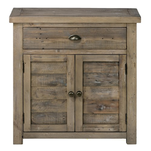 Jofran Bancroft Mills Accent Chest made of Reclaimed Pine