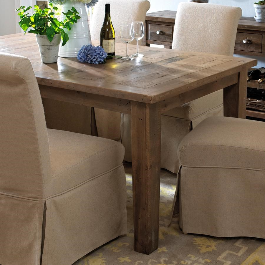 Slater Mill Pine Dining Table Made From Reclaimed Pine Belfort