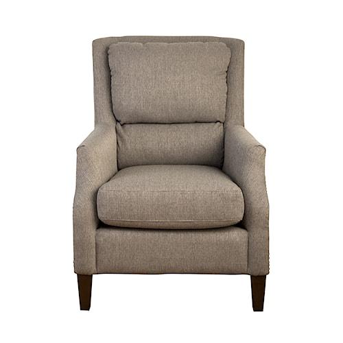 Jofran Accent Chairs Chandler Pillowback Accent Chair
