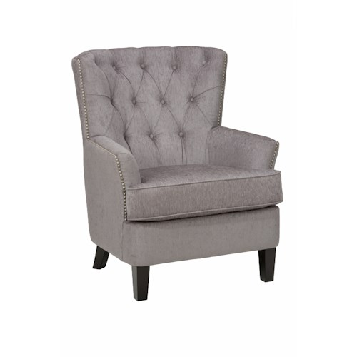 Jofran Accent Chairs Hudson Arm Chair