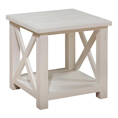Jofran Madaket Reclaimed Pine End Table