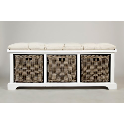 Jofran Natural Origins Natural Origins Storage Bench