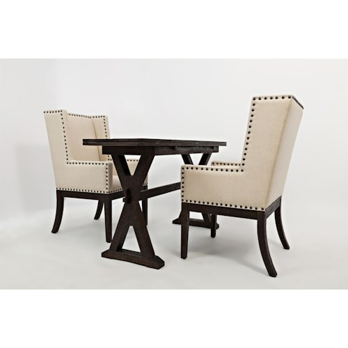 Jofran Pacific Heights Drop Leaf Sofa Table/Desk and Chair Set