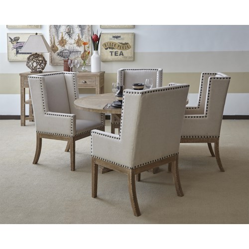 Morris Home Furnishings Pacific Heights Casual Dining Room Group