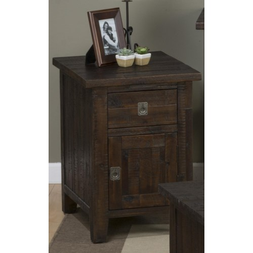 Morris Home Furnishings Stockport Chair Side End Table