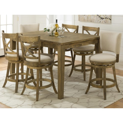 Jofran Turners Landing Turner's Landing  Counter Height Table Set