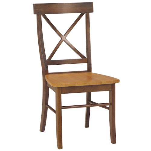 John Thomas Dining Essentials X-Back Side Chair