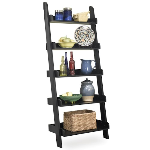 John Thomas Dining Essentials Leaning Ladder Shelf