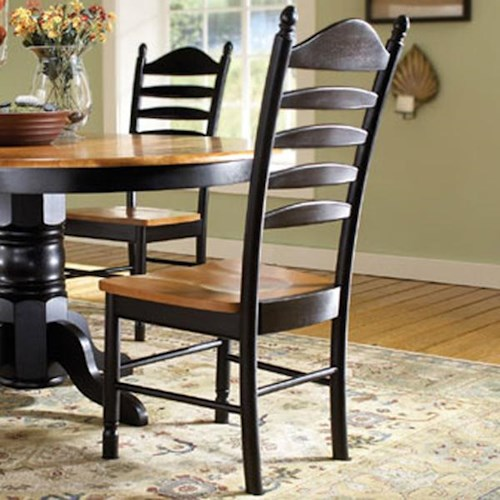 John Thomas Madison Park Ladderback Dining Side Chair