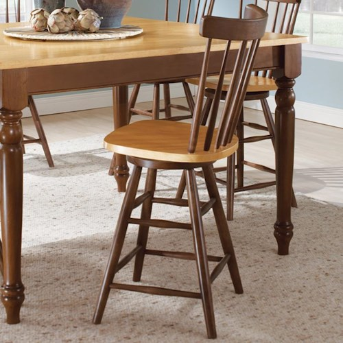 John Thomas Madison Park Spindleback Counter Height Stool