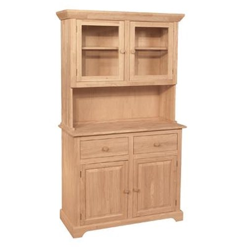 John Thomas SELECT Dining 4-Door 2-Drawer Buffet & Hutch