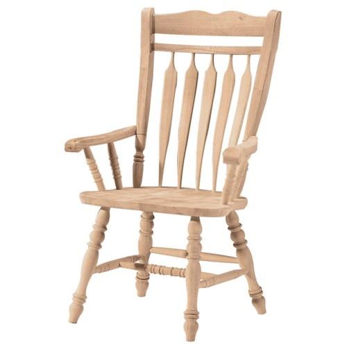 John Thomas SELECT Dining Colonial Arm Chair