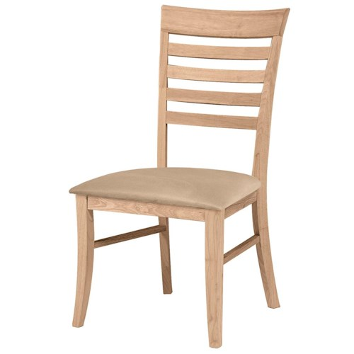 John Thomas SELECT Dining Roma Chair with Seat Cushion