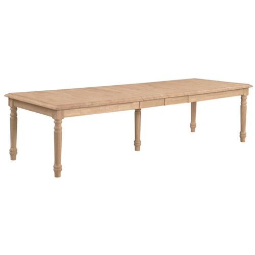 John Thomas SELECT Dining Waterfall Edge Extension Table