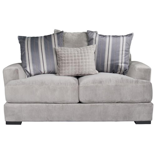 Morris Home Furnishings Aldo Loveseat