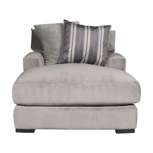 Morris Home Furnishings Aldo Chaise