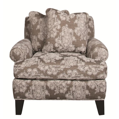 Morris Home Furnishings Alexandria Accent Chair