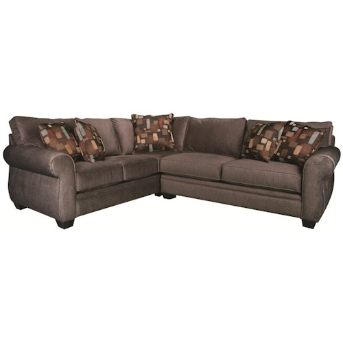 Morris Home Furnishings Alexis 2-Piece Sectional