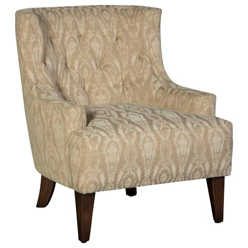 Cisco Accentuates Sedona Tufted Accent Chair