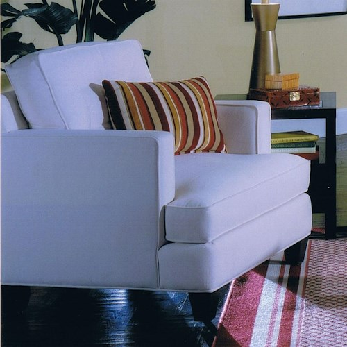 Jonathan Louis Bono Contemporary Upholstered Arm Chair