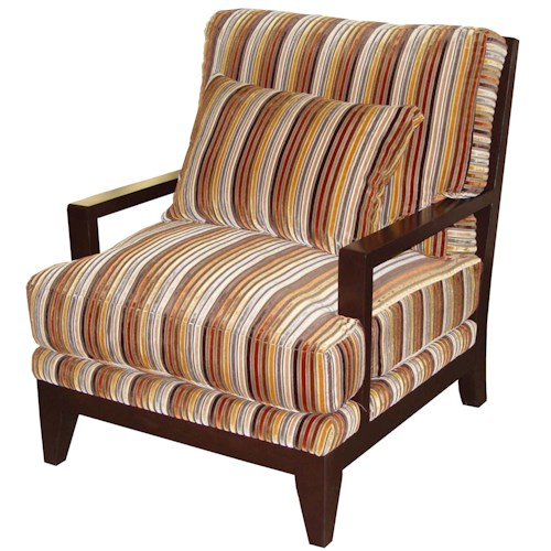 Jonathan Louis Bono Contemporary Wood Accent Chair
