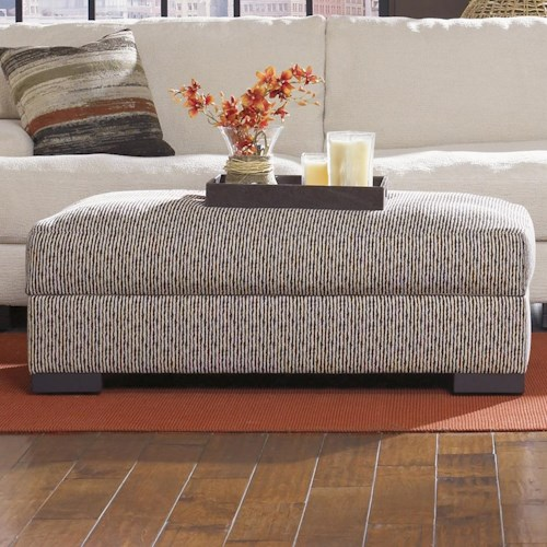 Jonathan Louis Burton  Lombardy Contemporary Storage Cocktail Ottoman
