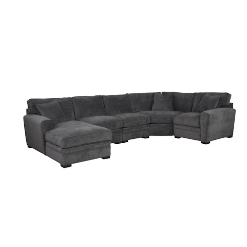 Jonathan Louis Choices - Artemis Four Piece Sectional with LAF Chaise