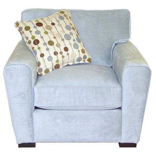 Jonathan Louis Choices - Artemis Upholstered Chair with Dome Arms