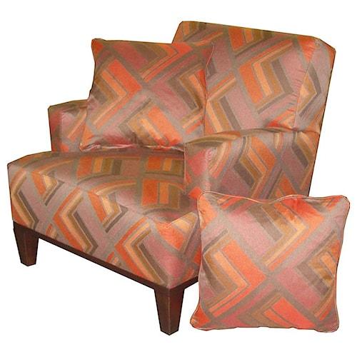 Jonathan Louis Choices - Orion Unique Modern Accent Chair