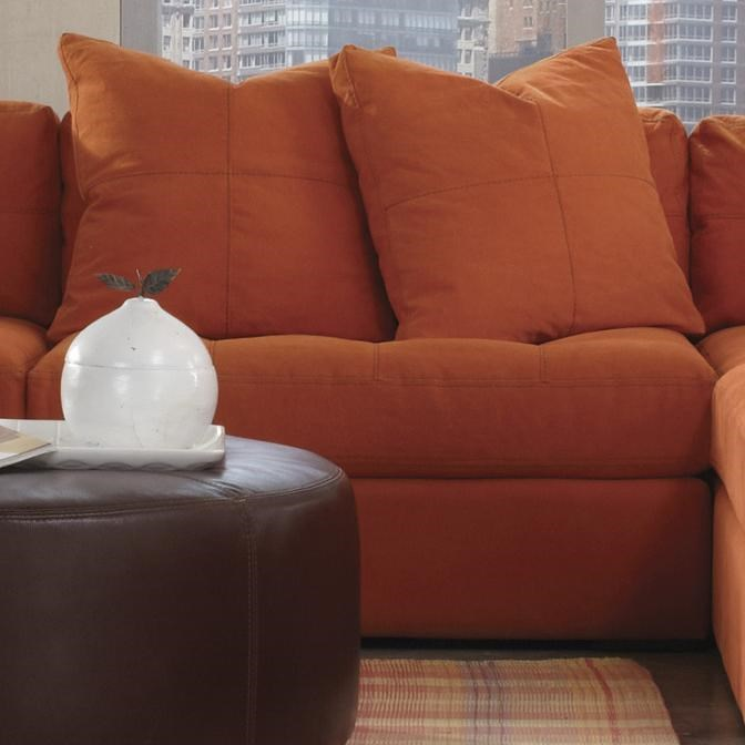 Jonathan Louis Noah Lounging Modular Piece with Tufted Seat Cushion and Back - Pilgrim Furniture ...