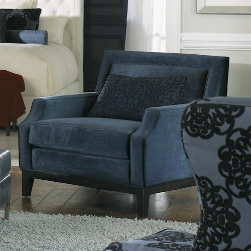 Morris Home Furnishings Rossdale Beveled Arm Chair