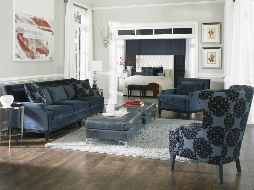 Shown with Estate Sofa, Arm Chair, and Ottoman
