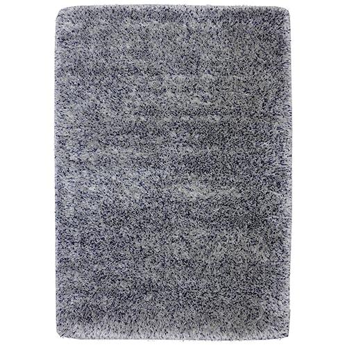 Karastan Rugs After 5 Shag 5'3x7'7 Blue Silver Rug