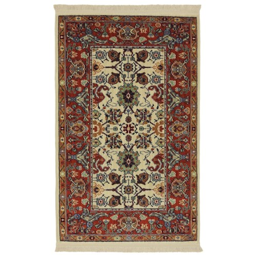 Karastan Rugs English Manor 3'8x5' Stratford Rug