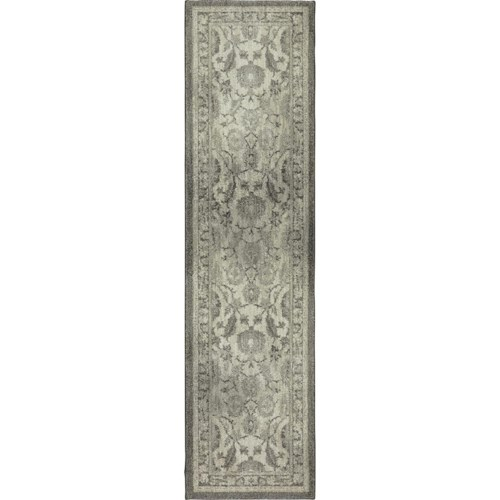 Karastan Rugs Euphoria 2'1x7'10 New Ross Ash Grey Rug Runner
