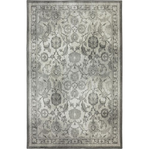 Karastan Rugs Euphoria 5'3x7'10 New Ross Ash Grey Rug