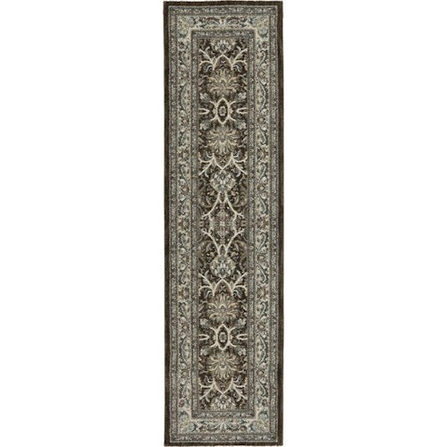 Karastan Rugs Euphoria 2'1x7'10 Newbridge Brown Rug Runner