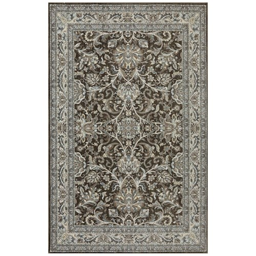 Karastan Rugs Euphoria 9'6x12'11 Newbridge Brown Rug