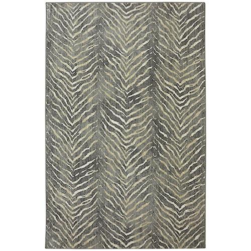 Karastan Rugs Euphoria 5'3x7'10 Aberdeen Granite Rug