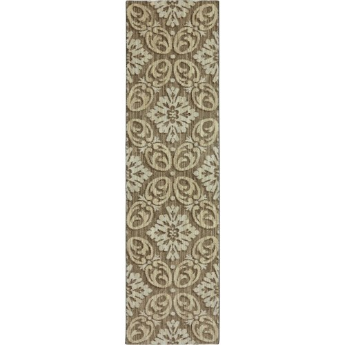 Karastan Rugs Euphoria 2'1x7'10 Findon Brown Rug Runner
