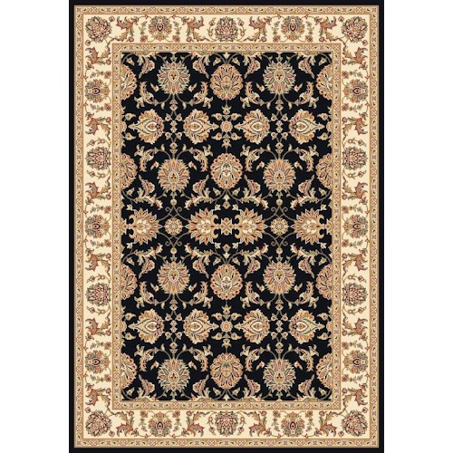 Kas Chateau 3.3 x 4.11 Area Rug : Black