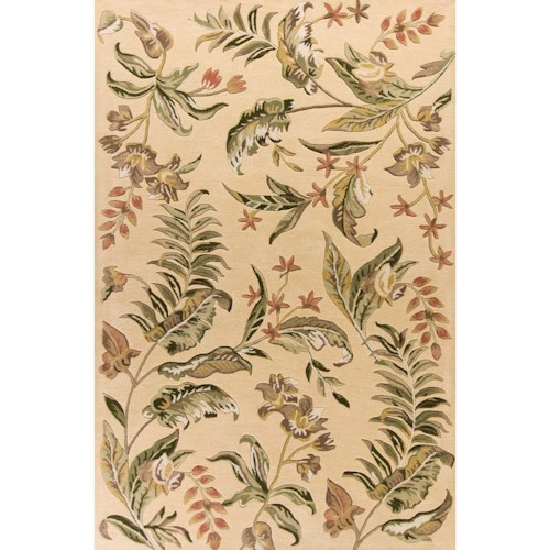 Kas Havana 5' X 8' Cream Vista Area Rug
