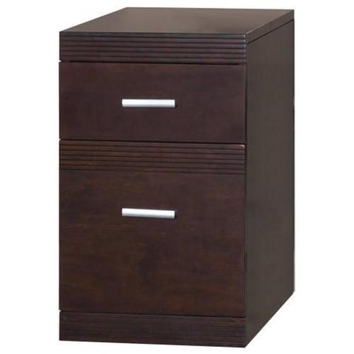 kathy ireland Home by Martin Carlton Rolling Lateral File Cabinet
