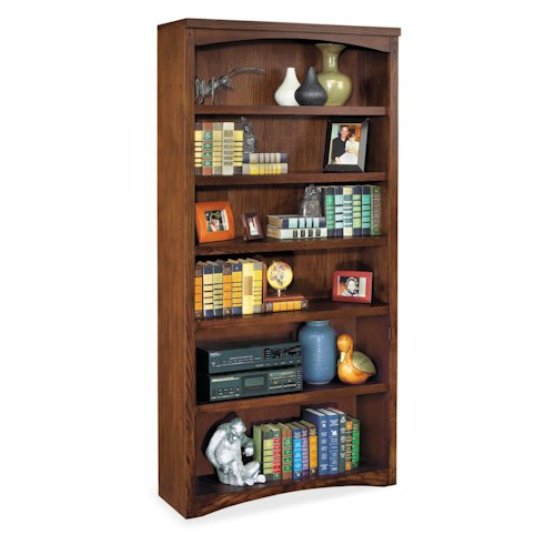 kathy ireland Home by Martin Mission Pasadena Mission Six Shelf Open Bookcase