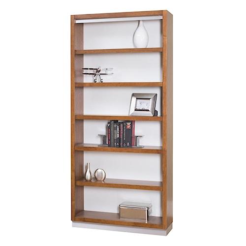 kathy ireland Home by Martin Monterey Contemporary 6 Shelf Open Bookcase