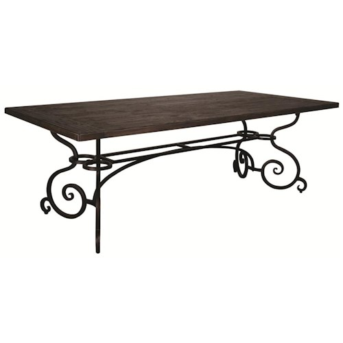 Morris Home Furnishings Middleburg 2 Piece Dining Table