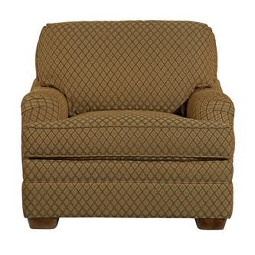 Kincaid Furniture Alexandria Wooden Leg Upholstered Chair