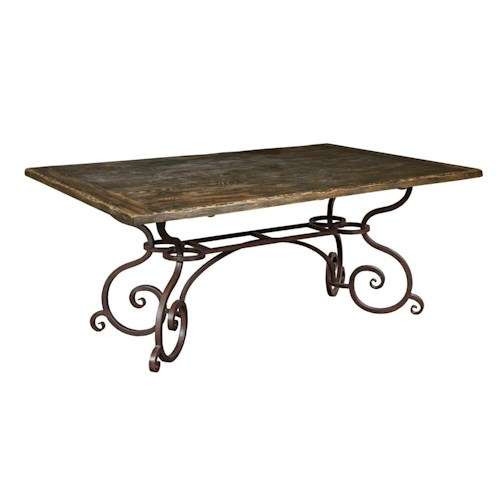 Kincaid Furniture Artisan's Shoppe Dining - Black Forest Traditional 72