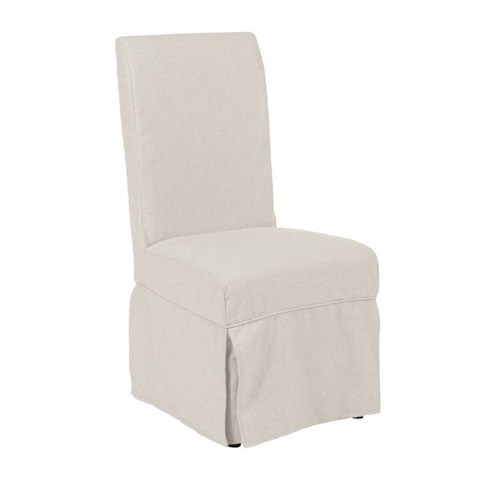 Morris Home Furnishings Middleburg Traditional Slipcover Chair with Sunbrella Fabric